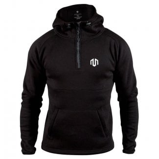Morotai Men Neotech 1/2 Zip Hooded Sweatshirt