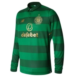 Celtic Away Mens Long Sleeve Jersey 2017/2018