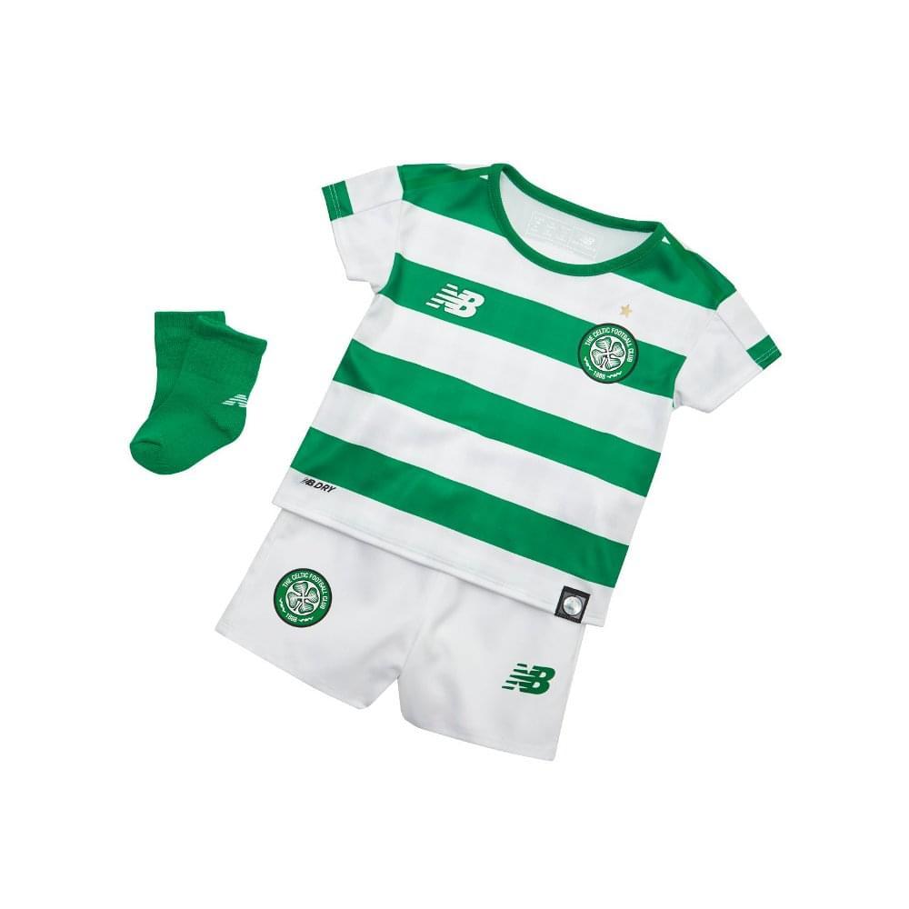 pretty nice 9ec5f 7855c New Balance Celtic Home Baby Kit 2018/2019