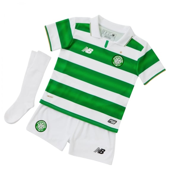 New Balance Celtic Home Infant Kit 2016/2017