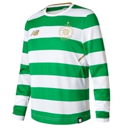 Celtic Home Junior Long Sleeve Jersey 2017/2018