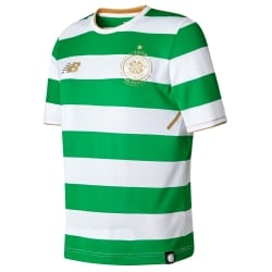 Celtic Home Junior Short Sleeve Jersey 2017/2018