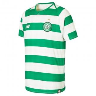 Celtic Home Junior Short Sleeve Jersey 2018/2019