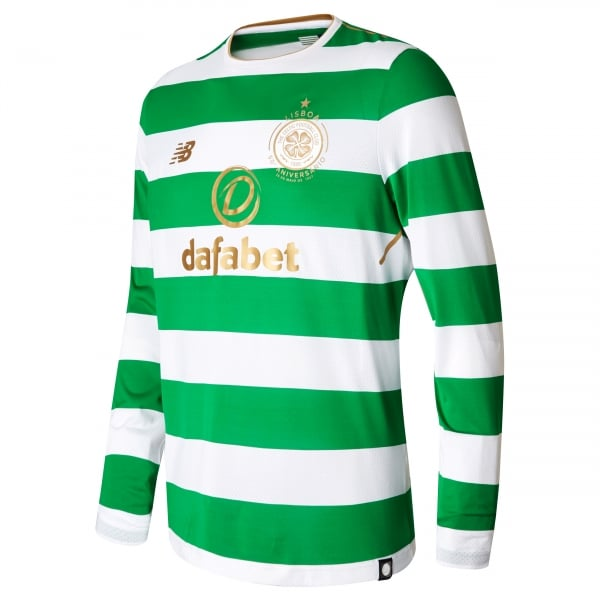 New Balance Celtic Home Mens Long Sleeve Jersey 2017/2018