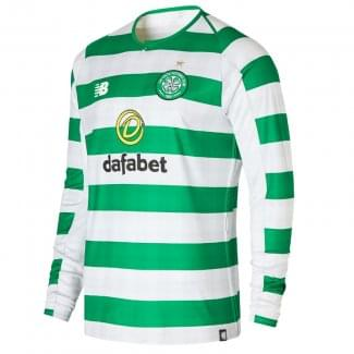 Celtic Home Mens Long Sleeve Jersey 2018/2019