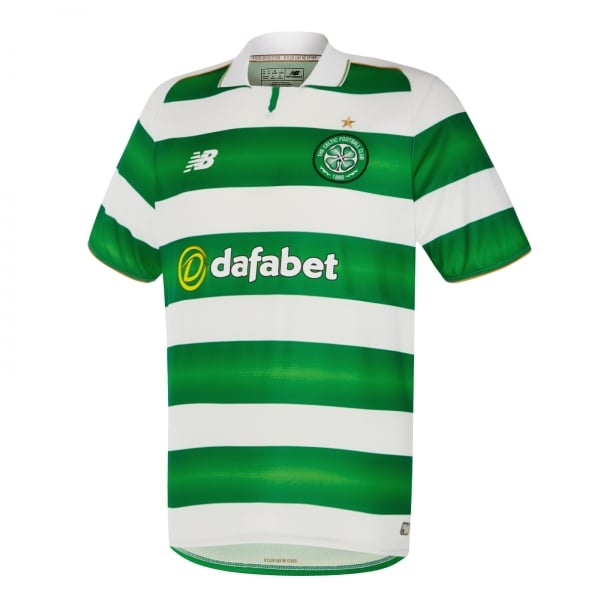 New Balance Celtic Home Mens Short Sleeve Jersey 2016/2017