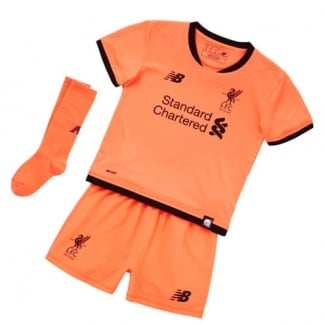 Liverpool 3rd Infant Kit 2017/2018