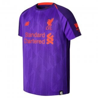 Liverpool Away Junior Short Sleeve Jersey 2018/2019