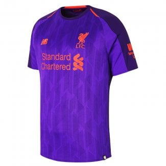 Liverpool Away Mens Short Sleeve Jersey 2018/2019