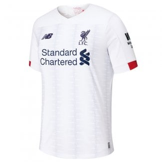 Liverpool Away Mens Short Sleeve Jersey 2019/2020