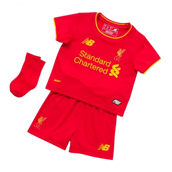 New Balance Liverpool Home Baby Kit 2016/2017