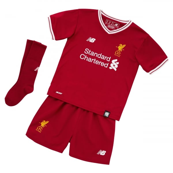 New Balance Liverpool Home Infant Kit 2017/2018