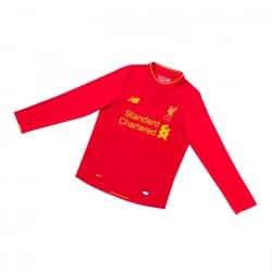 Liverpool Home Junior Long Sleeve Jersey 2016/2017