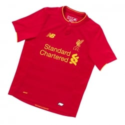 Liverpool Home Junior Short Sleeve Jersey 2016/2017