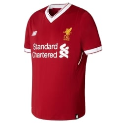 Liverpool Home Junior Short Sleeve Jersey 2017/2018