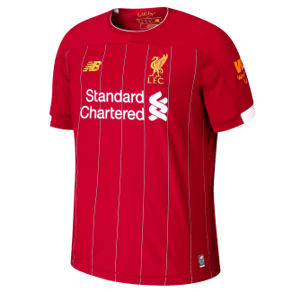 Liverpool Home Junior Short Sleeve Jersey 2019/2020