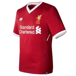 Liverpool Home Mens Short Sleeve Elite Jersey 2016/2017