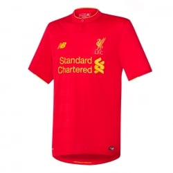 Liverpool Home Mens Short Sleeve Jersey 2016/2017