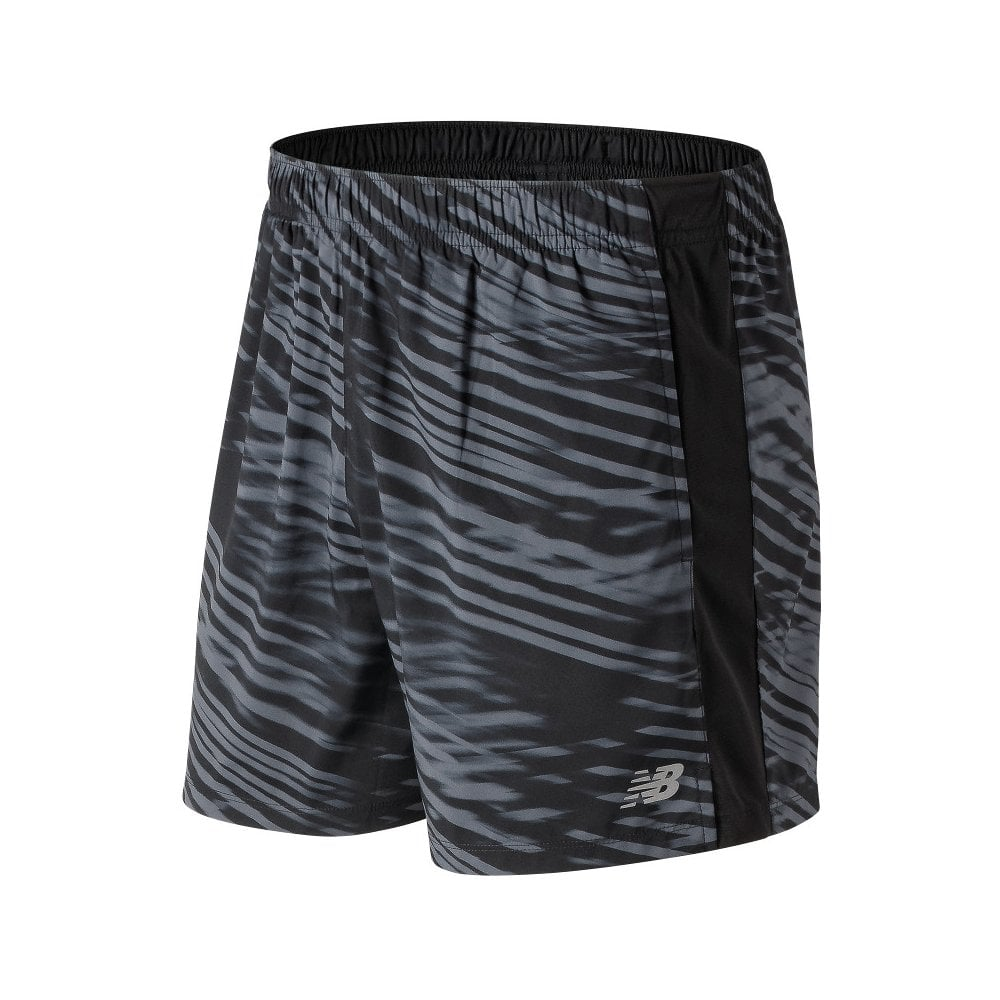 919efcfa72e44 New Balance Mens Printed Accelerate 5 Inch Short - New Balance from Excell  Sports UK