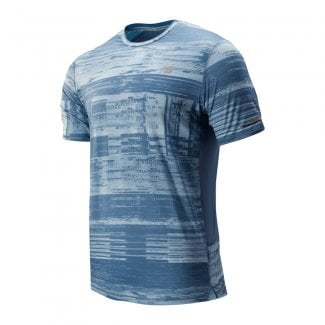 Mens Printed Ice 2.0 Short Sleeve T-Shirt