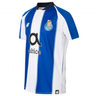 Porto Home Junior Short Sleeve Jersey 2018/2019
