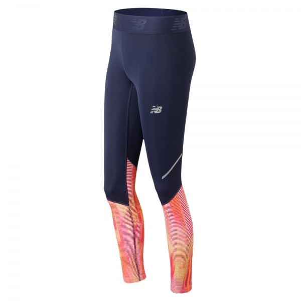 New Balance Womens Accelerate Printed Tight