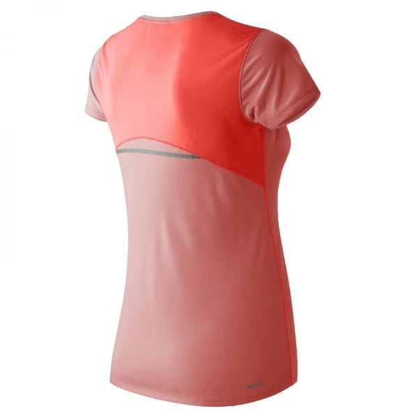 New Balance Womens Accelerate Short Sleeve Tee