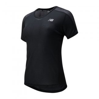 Womens Impact Run Short Sleeve T-Shirt