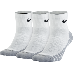 3-Pack Dry Cushion Quarter Sock