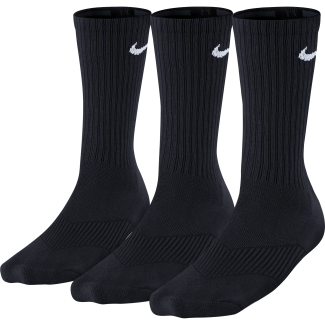 3-Pack Kids Cotton Cushioned Crew Sock
