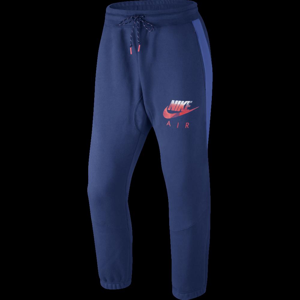 auditoría en el medio de la nada Rechazo  Nike Air Mens Hybrid Fleece Pant in Blue   Excell Sports UK