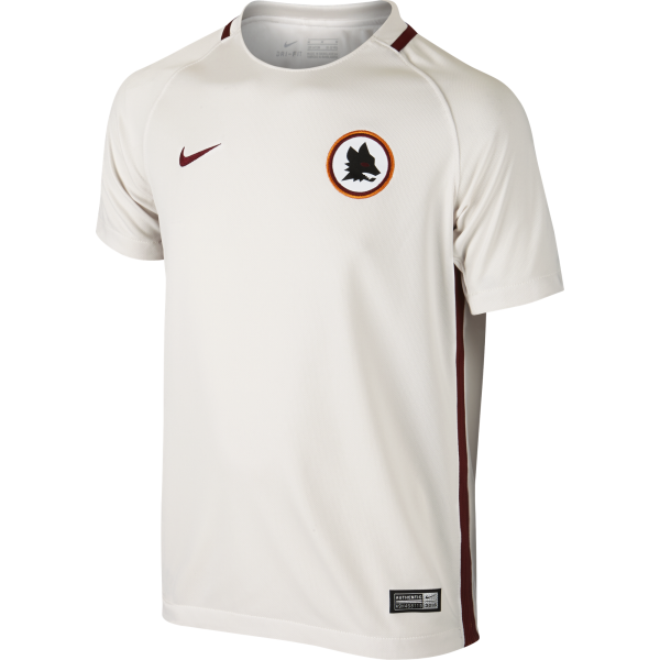 Nike AS Roma Away Junior Short Sleeve Jersey 2016/2017