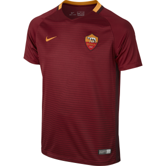AS Roma Home Junior Short Sleeve Jersey 2016/2017