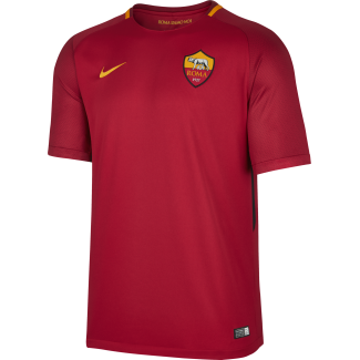 AS Roma Home Junior Short Sleeve Jersey 2017/2018
