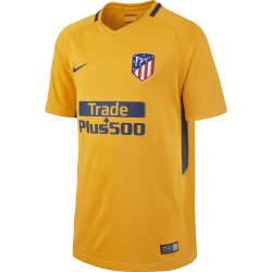 Atletico Madrid Away Junior Short Sleeve Jersey 2017/2018