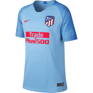 Atletico Madrid Away Junior Short Sleeve Jersey 2018/2019