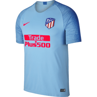Atletico Madrid Away Mens Short Sleeve Jersey 2018/2019