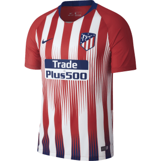 Atletico Madrid Home Mens Short Sleeve Jersey 2018/2019