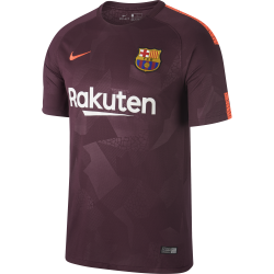 Barcelona 3rd Mens Short Sleeve Jersey 2017/2018