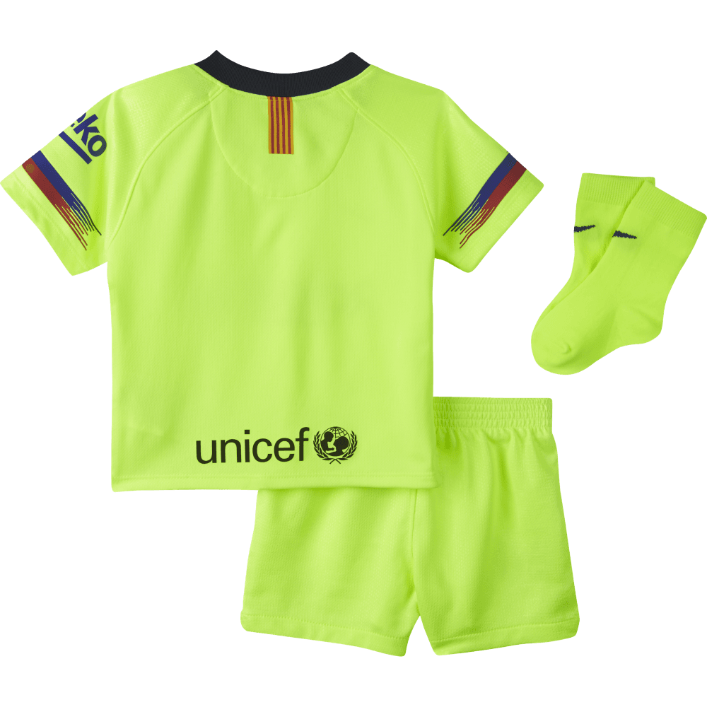 795628a234 Nike Barcelona Away Infant Kit 2018 2019 - Nike from Excell Sports UK