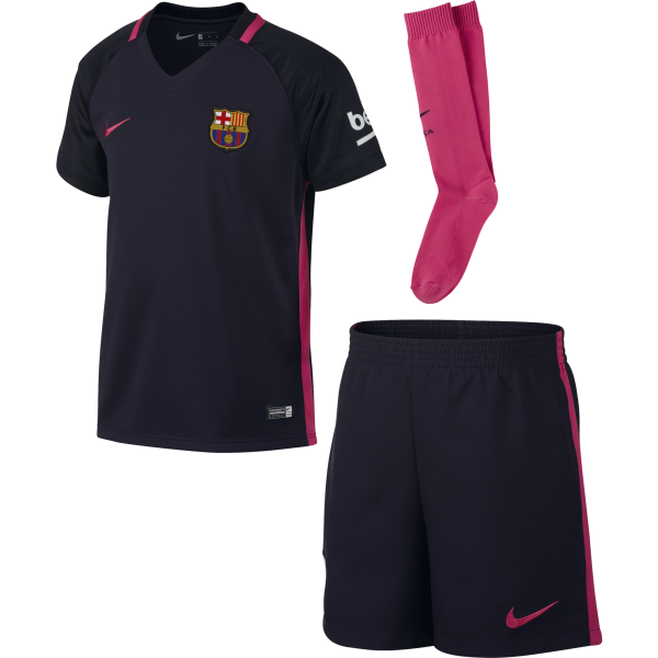 Nike Barcelona Away Mini Kit 2016/2017