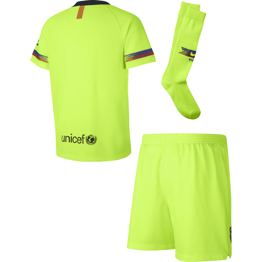 1af4ea56e Nike Barcelona Away Mini-Kit 2018 2019 - Nike from Excell Sports UK