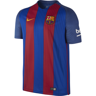 Barcelona Home Junior Short Sleeve Jersey 2016/2017