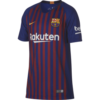 Barcelona Home Junior Short Sleeve Jersey 2018/2019