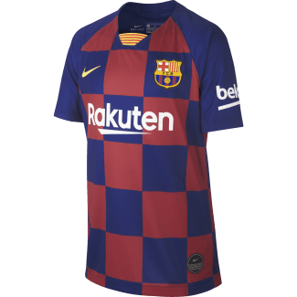Barcelona Home Junior Short Sleeve Jersey 2019/2020