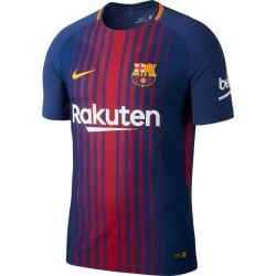 Barcelona Home Mens Match Short Sleeve Jersey 2017/2018