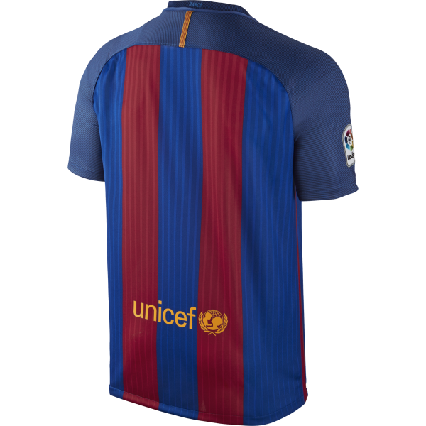 Nike Barcelona Home Mens Short Sleeve Jersey 2016/2017