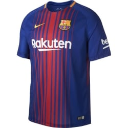 Barcelona Home Mens Short Sleeve Jersey 2017/2018