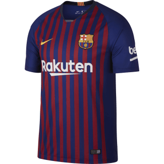 Barcelona Home Mens Short Sleeve Jersey 2018/2019
