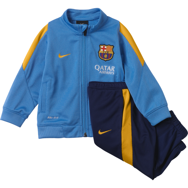 Nike Barcelona Infants Revolution Sideline Knit Warm Up Tracksuit